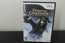 Pirates of the Caribbean: At World's End  (Wii, 2007) *Tested