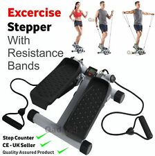 Exercise Stepper Aerobic Fitness With Resistance Bands Rope Workout Cord Arm Leg