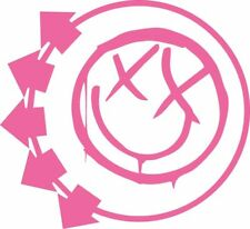 Blink 182 sticker / decal 230mmx210mm pink color