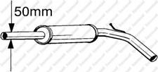 Mittelschalldämpfer für Abgasanlage BOSAL 233-395