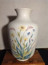 "Large Rorstrand Meadow Flowers  "" Blomster"" Vase Sweden Lars Thoren"