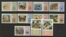 Samoa 1972 Multi Design Values (1s to $2) Unmounted Mint