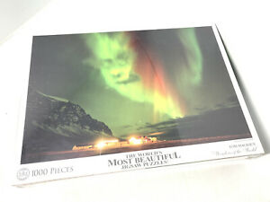 The worlds most beautiful jigsaw puzzles angry aurora, Iceland By Tom Mackie