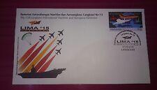 Fv+20% sales - Malaysia 2015 Lima Langkawi Aerospace Maritime Expo  FDC