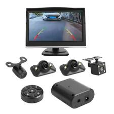 360 Degree Bird View System 4 HD Camera Car DVR Recording Cam with 5in Monitor