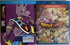 NEW DRAGON BALL Z BATTLE OF THE GODS BLU RAY DVD WALMART EXCLUSIVE SLIPCOVER 30T