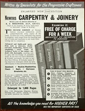 Newnes Carpentry & Joinery Advertisement 1960's