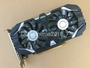 MSI NVIDIA GeForce GTX1050Ti 4GB DDR5 DVI/DP/HDMI PCI-Express Video Card