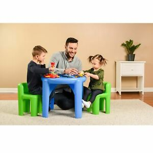 Little Tikes Table and Chair Set, Multiple Colors
