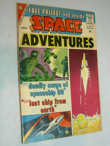Space Adventures #32 VG- Steve Ditko Charlton cover and art WOW