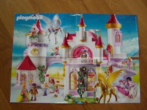 * Kleines Poster Playmobil Prinzessin A3 wie NEU - Girlies*