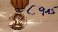 Orden Frankreich Feuerwehr Verdienstmedaille silbern ohne Helm (c915-)