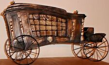 Halloween Horse Drawn Victorian Hearse Haunted Funeral Carriage Gothic Bella Lux