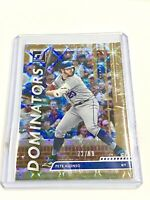 Pete Alonso #93/99 Gold Dominators Parallel 2020 Panini Donruss New York Mets