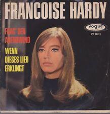 """Et Françoise Hardy le demanderai les étrange/si cette chanson se fait entendre 1965 VOGUE 7"""""""
