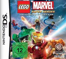 Nintendo DS LEGO Marvel Heroes Universe in Danger Action Adventure Multilingual