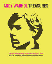NEW Andy Warhol Treasures: The Illustrated Story of Andy Warhol's Life and Work