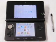 X1538 Nintendo 3DS console Cosmo Black Japan w/stylus pen
