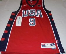 Lebron James Olympic Dream Team USA Replica Reebok Jersey Large Authentic Sewn