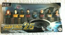 New PEZ Candy Dispensers STAR TREK Collector's Series Limited Edition Set NIB