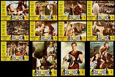 "12 Photos Lobby ""Ben Hur"" Charlton Heston William Wyler 1959"