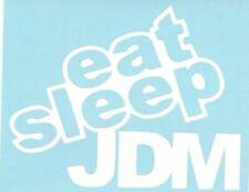 Eat Sleep JDM Car Truck Suv vinyl sticker decal