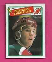 1988-89 OPC  # 122 DEVILS BRENDAN SHANAHAN  ROOKIE NRMT  CARD (INV# D1959)