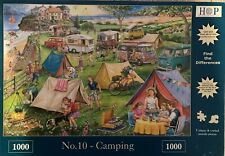 HOP Deluxe 'CAMPING' 1000-Piece Jigsaw Puzzle  **Fast Free Postage**