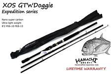 Hamachi XOS GT'n'Doggie 10' PE 6 - 10 / 50 - 100 lb Popper nano fishing rod pole
