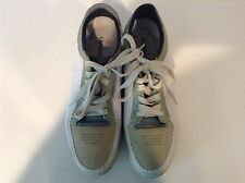 Lacoste Revan white size 12 casual fashion mesh sneaker joggeur straightset
