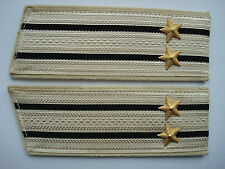 Russian Soviet Army Navy Naval Shoulder Boards Straps Epaulets USSR Captain Star
