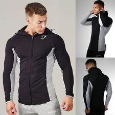 New Men's Muscle Brothers Gym Hoodie Sweaters Sport Fitness Gym Slim Sweatshirts