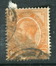 SOUTH AFRICA:  1913 early GV issue used 1s. value