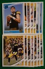 2018 Donruss Pittsburgh Steelers Team Set. Ben Roethlisberger 14 cards 4 RC