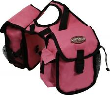 Showman PINK Cordura Nylon Western Saddle Insulated Horn Bags! NEW HORSE TACK!!!