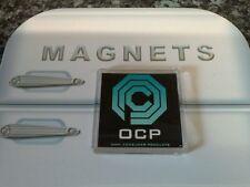 OCP Logo Fridge Magnet. NEW Robocop. Omni Consumer Corp. Cult Sci Fi