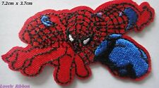 1 x SPIDERMAN, PATCH, Iron On, Sew, Hero, Emblem, Transfer, Free Post
