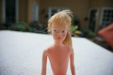 "Vintage 9 1/2"" Fashion Doll with painted face and rooted hair - Not marked"