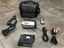 Sony Handycam HDR-SR5 (40 GB) Flash Media, Hard Drive Camcorder with Extras!!!!!