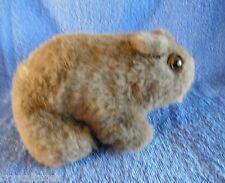 *1711b*  Wombat - Australian animal - plush - 19cm