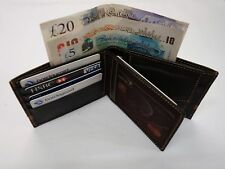 Soft Sheep Skin Leather Wallet with Coin Pocket and interior Leather Lined