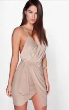 5cb359e71ddb Boohoo Wrap Dresses | eBay