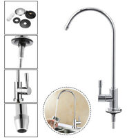 Kitchen 1/4 Inch RO Drinking Water Filter Faucet Reverse Osmosis System Sink Tap
