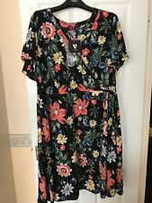 So Fabulous By Very Floral Women's Dress Brand New Size 28