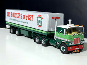 "Mack F700 6x4 curtainside trailer ""Bomo"" WSI truck models 01-3020"