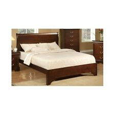 king sleigh bed frame wood headboard solid elegant furniture classic bedroom - Sleigh Bed Frame