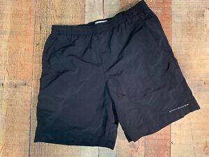 Vintage Women's Columbia PFG Omni-Shade Swim Trunks Swimwear  Large (L) Black