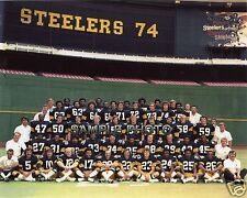 1974 PITTSBURGH STEELERS SUPER BOWL CHAMPIONS 8X10 TEAM PHOTO