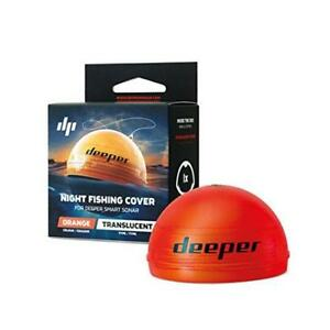 Deeper Accessories, Night Fishing Orange Cover – Compatible With Smart Sonars
