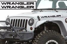 Custom Jeep Wrangler Willy Hood Decal - Wrangler - Matte Black Vinyl Both Sides